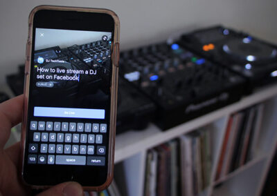 Comment faire un facebook live DJ ?