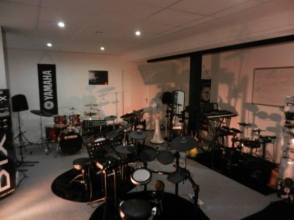 salle de cours pour accueillir des ateliers live