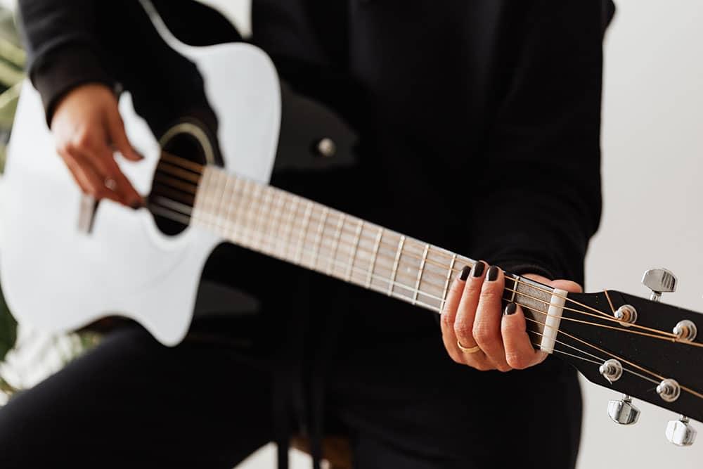 un cours de guitare particulier