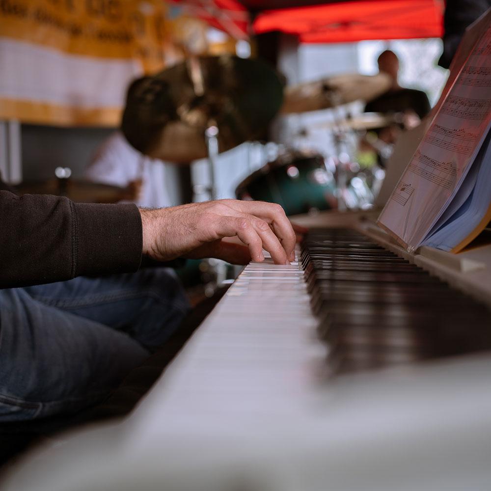 pianiste en concert d'école de musique à Rennes